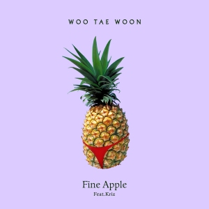 "Album art for Woo Tae Woon's album ""Fine Apple"""