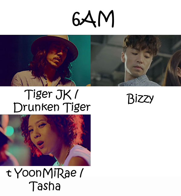 "The members of MFBTY in the ""6AM"" MV"