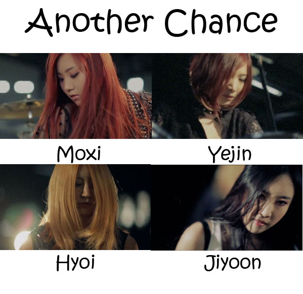 "The members of Amor Fati in the ""Another Chance"""