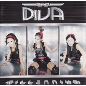 "Album art for Diva's album ""Millenium"""