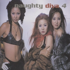 "Album art for Diva's album ""Naughty"""