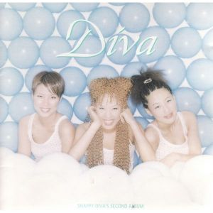 "Album art for Diva's album ""Snappy Diva"""