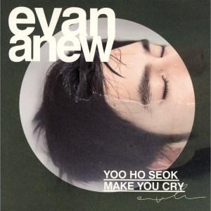 "Album art for Evan (Yoo Ho Seok)'s album ""ANEW"""