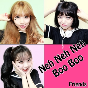 "Album art for Friends's album ""Neh Neh Neh Boo Boo"""