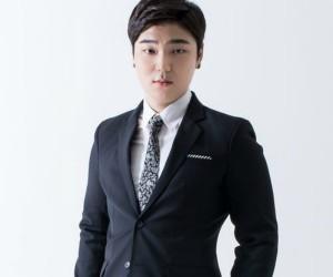 "Humble's Joongki ""Humble"" promotional picture."