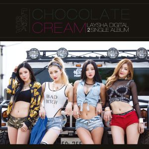 "Album art for Laysha's album ""Chocolate Cream"""