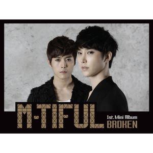 """Album art for M-Tiful's album """"Broken"""""""
