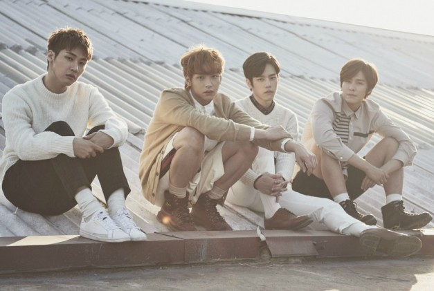 "N.Flying's ""Lonely"" promotional picture."