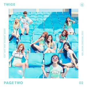 "Album art for Twice's album ""Page Two"""