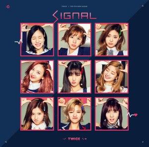 """Album art for Twice's album """"Signal"""""""