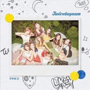"""Album art for Twice's album """"Twicetagram"""""""