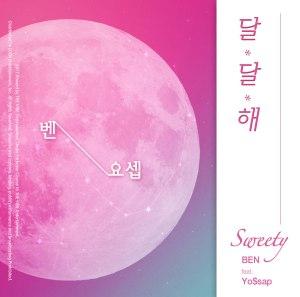 "Album art for Ben's album ""Sweety"""