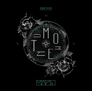 "Album art for M.A.P6's album ""Momentum"""