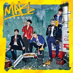 "Album art for MAP6's album ""Swagger Time"""
