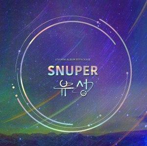 """Album art for Snuper's album """"Meteor"""""""