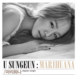 "Album art for U Sung Eun's album ""Marihuana"""