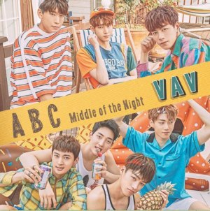 "Album art for VAV's album ""ABC (Middle Of The Night"""