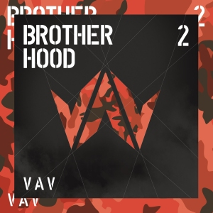 "Album art for VAV's album ""Brotherhood"""