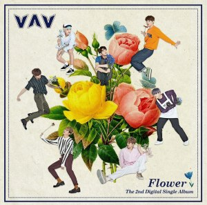 "Album art for VAV's album ""Flower (You)"""