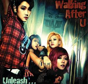 "Album art for Walking After U's album ""Unleash"""