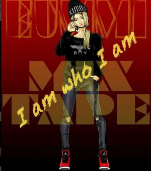 "Album art for EunMi (I.C.E)'s album ""I Am Who I Am"""