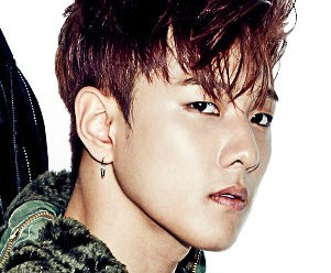 "iKon's Donghyuk ""Welcome Back"" promotional picture."