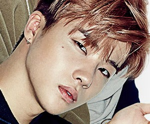 "iKon's Jinhwan ""Welcome Back"" promotional picture."