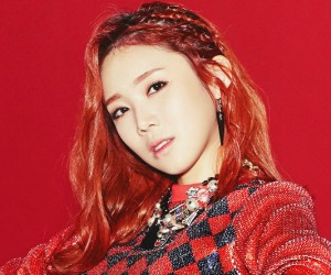 "Purfles' Eunyong ""Bad Girl"" promotional picture."
