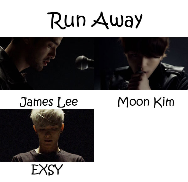 "The members of Royal Pirates in the ""Run Away"" MV"