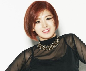 "Sixth Sense's Hayoung ""Barbie Bunny"" promotional picture."