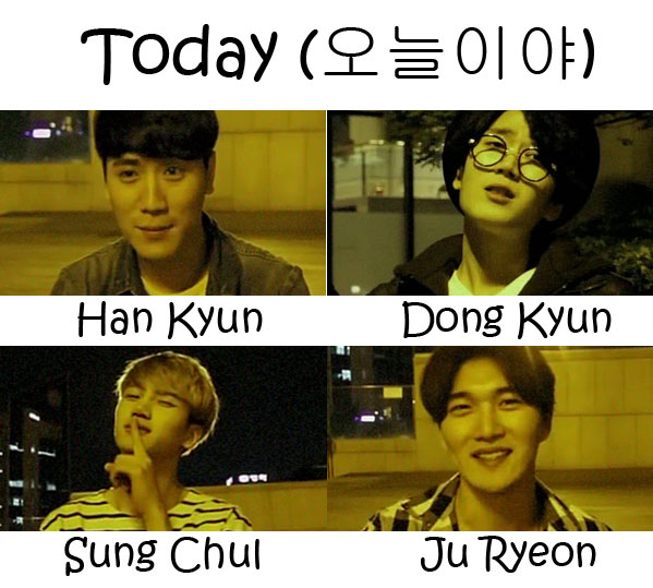 """The members of 5NL in the """"Today"""" MV"""