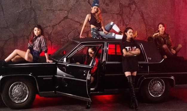 "4Minute's ""Act. 7"" promotional picture."