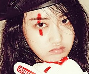 "4Minute's Gayoon ""Act. 7"" promotional picture."