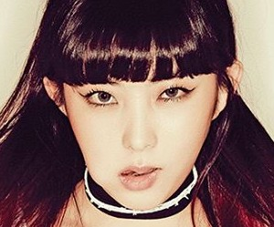 "4Minute's Sohyun ""Act. 7"" promotional picture."