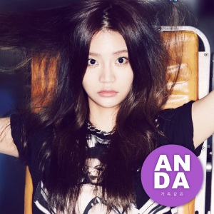 "Album art for Anda's album ""Like Family"""