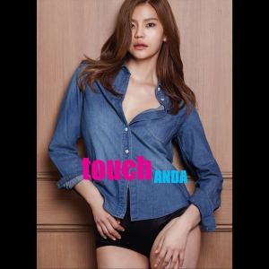 "Album art for Anda's album ""Touch"""