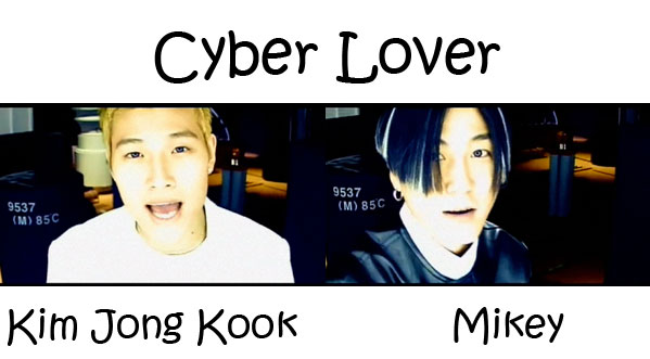 "The members of Turbo in the ""Cyber Lover"" MV"