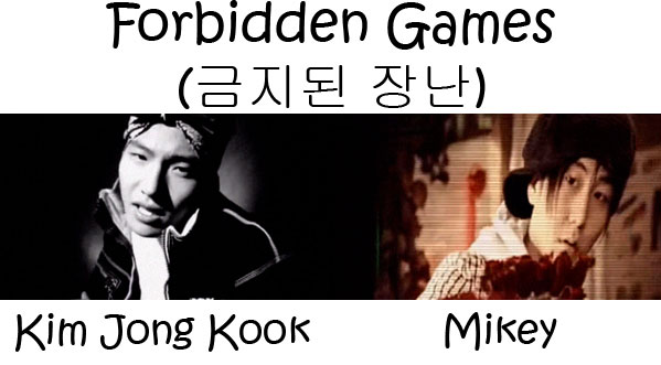 "The members of Turbo in the ""Forbidden Games"" MV"