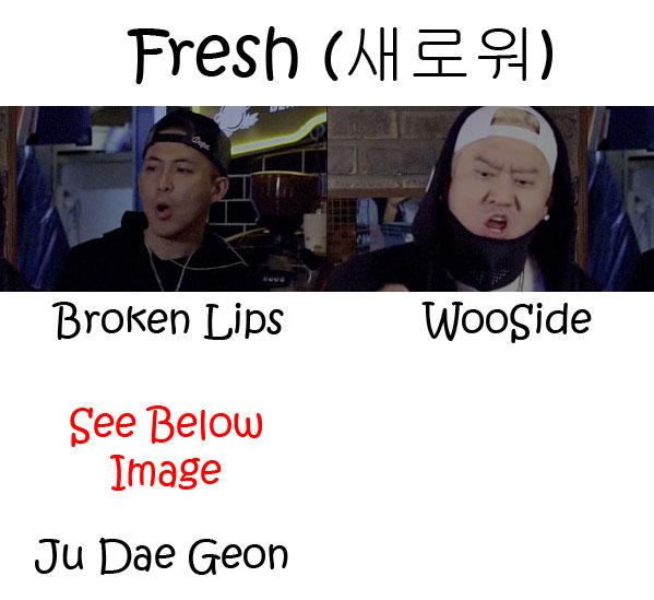 "The members of Phenomenon in the ""Fresh"" MV"