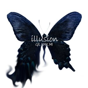 "Album art for Gil Hak Mi's album ""Illusion"""