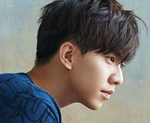 "Lee Seung Gi's ""I'm Joining the Military"" promotional picture."