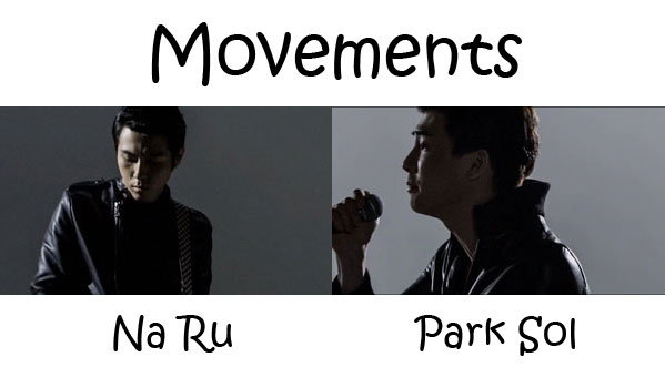 "The members of The Solutions's in the ""Movements"" MV"