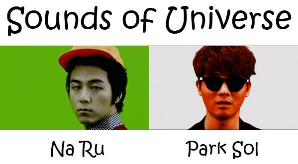 "The members of The Solutions's album ""Sounds Of Universe"""