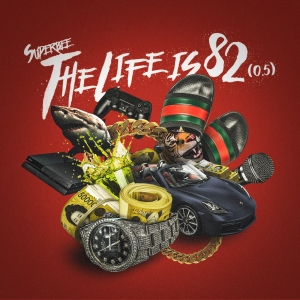 "Album art for Super Bee's album ""The Life Is 82"""