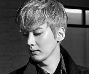 """Teen Top's Chunji """"Red Point"""" promotional picture."""