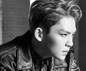 """Teen Top's Ricky """"Red Point"""" promotional picture."""