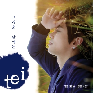 "Album art for TEI's album ""The New Journey"""