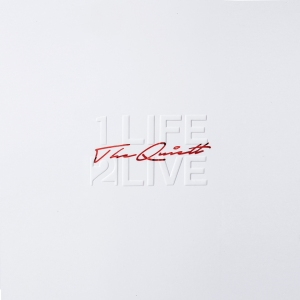 "Album art for The Quiett's album ""1 life 2 Live"""