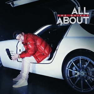 "Album art for The Quiett's album ""All About"""