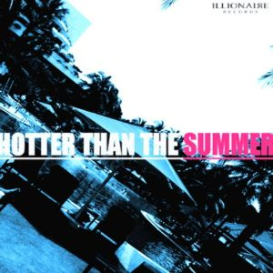 "Album art for The Quiett's album ""Hotter Than The Summer"""